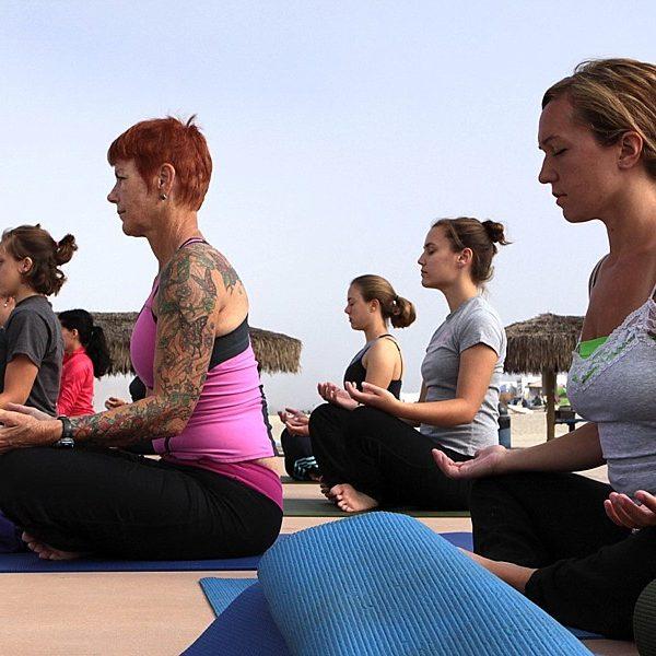Letting Yoga Help